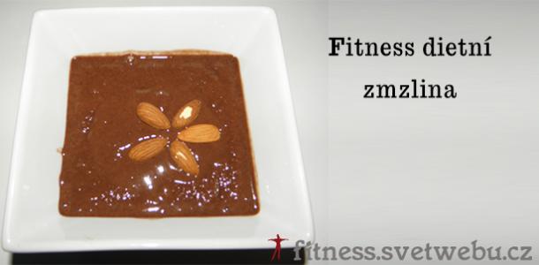 fitness dietní čokoládová zmrzlina
