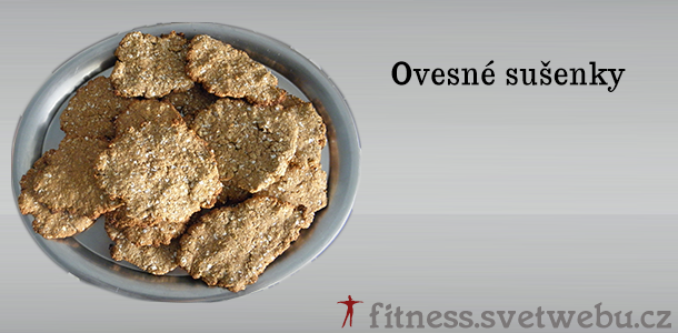 Recept na ovesné sušenky