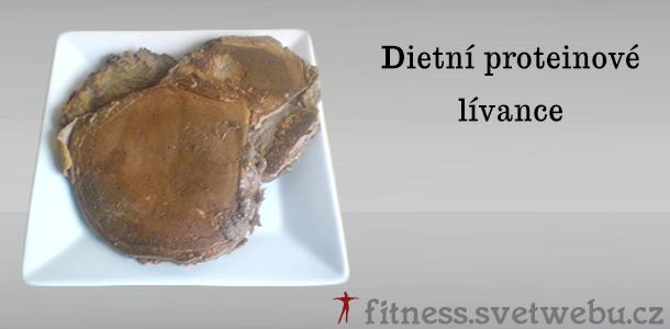 dietní proteinové lívance