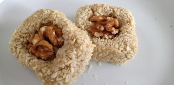 dietní ořechové cukroví