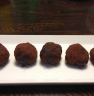 Proteinové čokoládové kuličky