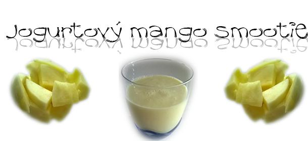 Jogurtové mango smoothie