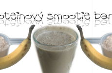 proteinovy smoothie banan