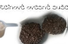 Proteinové ovesné sušenky