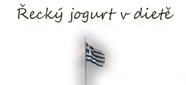 Řecký jogurt v dietě