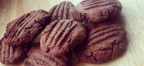 Dietní arašídové sušenky