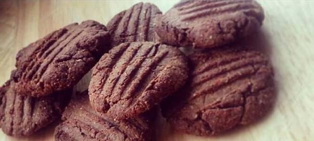Fitness recept na dietní arašídové sušenky