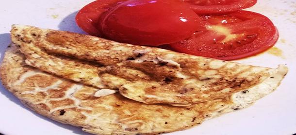 Dietní omeleta