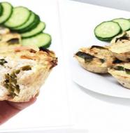 dietní slané muffiny