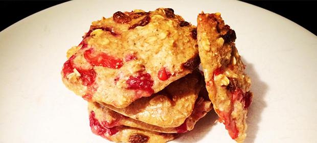 Fitness recept na dietní jahodové sušenky