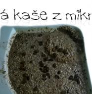 Recept na dietní ovesnou kaši z mikrovlnky