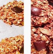 Fitness recept na dietní pomerančovo čokoládové sušenky